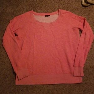 Coral Long Sleeve Soft Pull Over Sweater